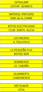 TORNEO FUTBOL 11 - EMPRESAS - CRUCES
